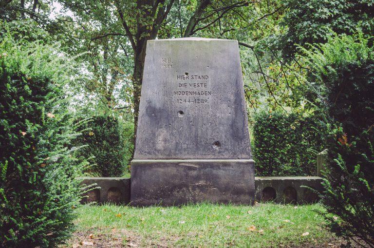 Gedenkstein in Hodenhagen (Heidekreis, Niedersachsen)