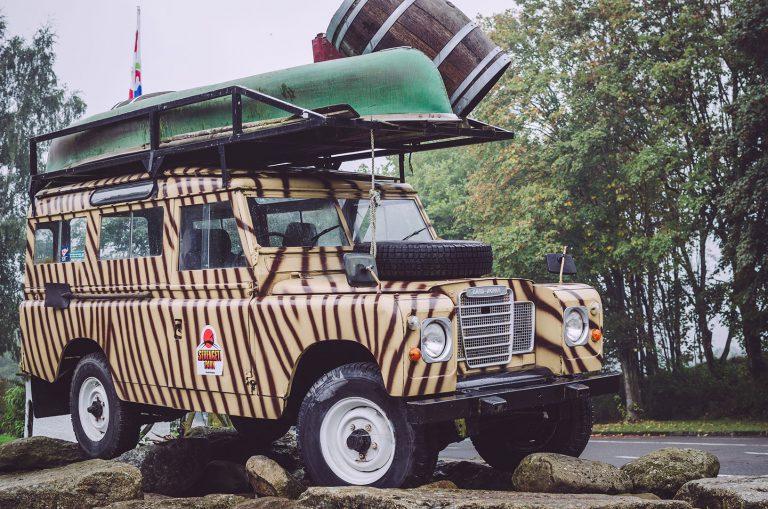 Jeep des Serengeti-Park in Hodenhagen (Heidekreis, Niedersachsen)