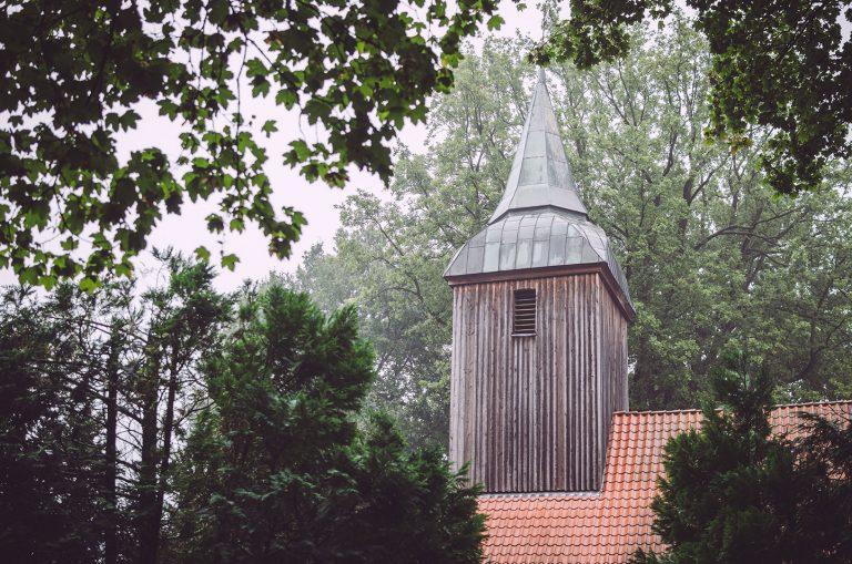 Kirchturmspitze in Hodenhagen (Heidekreis, Niedersachsen)