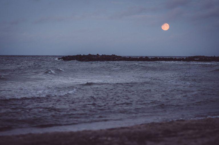 Abendsonne am Strand von Kalifornien (Schönberg, Schleswig-Holstein)