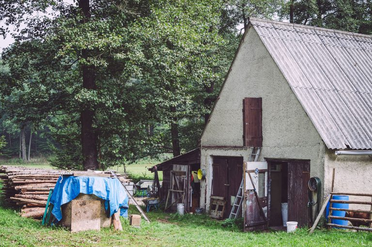 Stall in Kanada (Münchenbernsdorf, Thüringen)