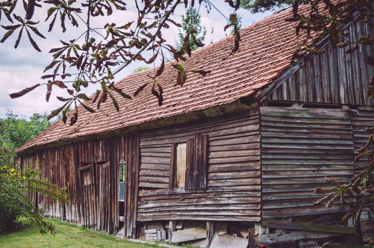 Scheune bzw. Hütte in Busendorf (Beelitz, Brandenburg)