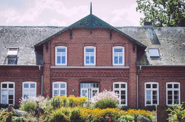 Haus und Gutshof in Norwegen (Mohrkirch, Schleswig-Holstein)