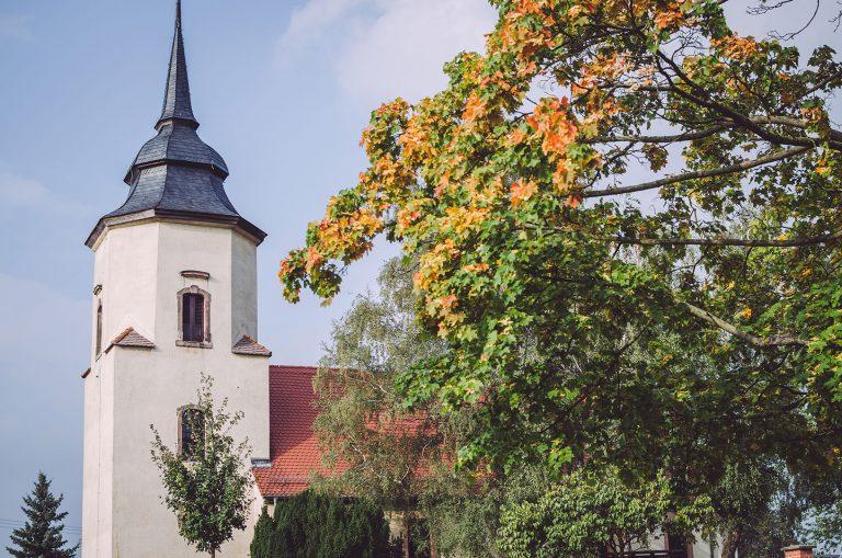 Kirchturm in Pissen (Rodden, Sachsen-Anhalt)