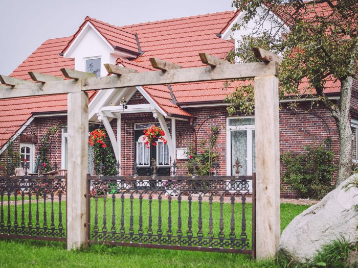 Haus in Rußland (Friedeburg, Niedersachsen)