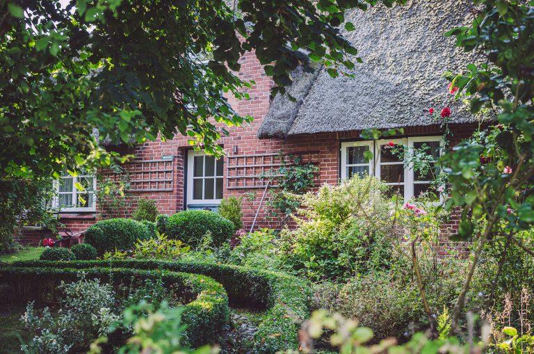 Garten mit Haus in Welt (Nordfriesland, Schleswig-Holstein)