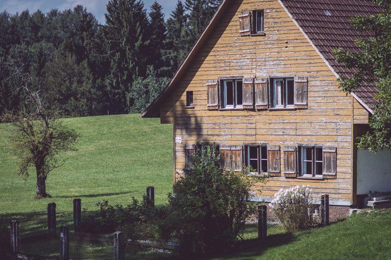 Verlassenes Haus in Bremen (Amtzell, Baden-Württemberg)