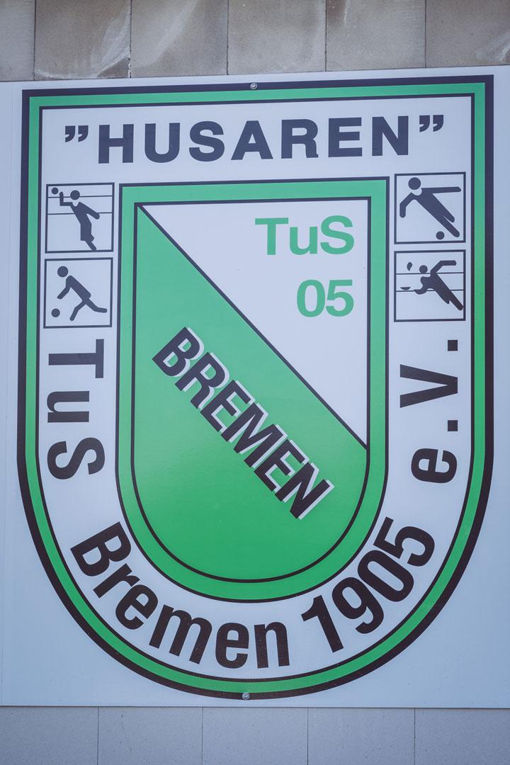 """Husaren"" TuS Bremen Schild in Bremen (Ense, Nordrhein-Westfalen)"