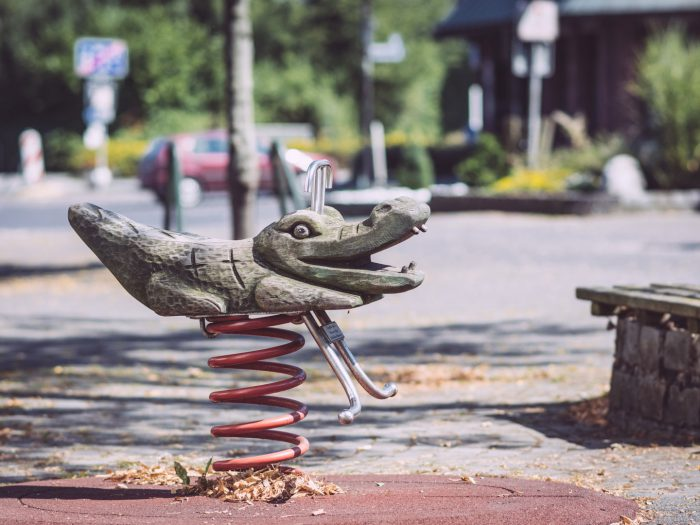 Krokodilwippe vom Spielplatz in Bremen (Ense, Nordrhein-Westfalen)
