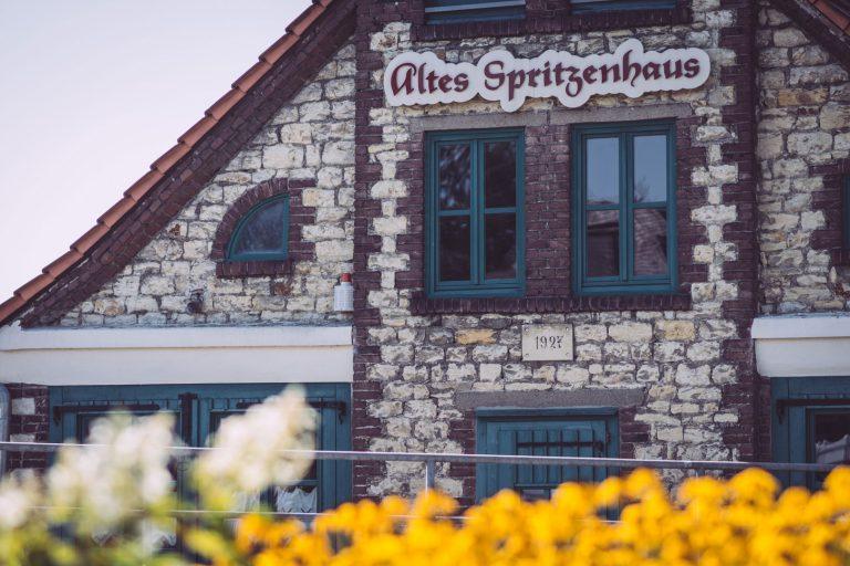 Altes Spritzenhaus in Bremen (Ense, Nordrhein-Westfalen)
