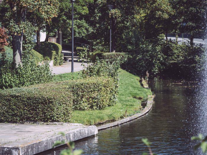 Flusspromenade in Bremen (Ense, Nordrhein-Westfalen)