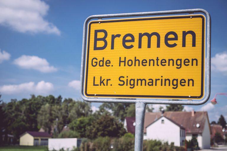 Ortsschild von Bremen (Hohentengen, Baden-Württemberg)