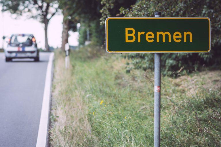 Ortsschild von Bremen (Wermelskirchen, Nordrhein-Westfalen)