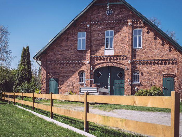 Backsteinhaus in Köhlen (Geestland, Niedersachsen)