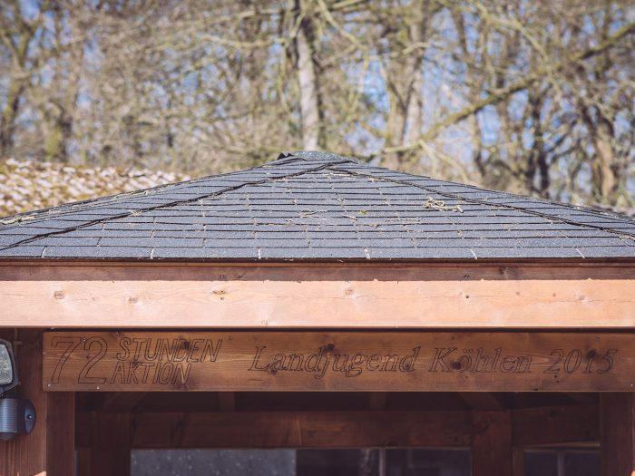 Pavillon in Köhlen (Geestland, Niedersachsen)