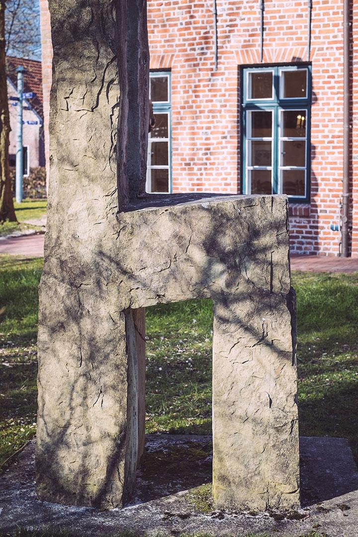 Denkmal in Neustadtgödens (Sande, Niedersachsen)
