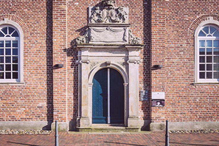 Hauswand in Neustadtgödens (Sande, Niedersachsen)