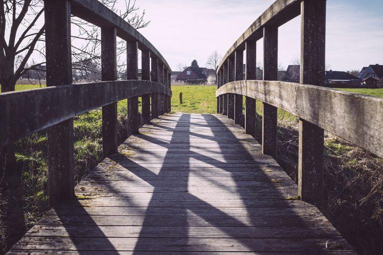 Brücke in Neustadtgödens (Sande, Niedersachsen)