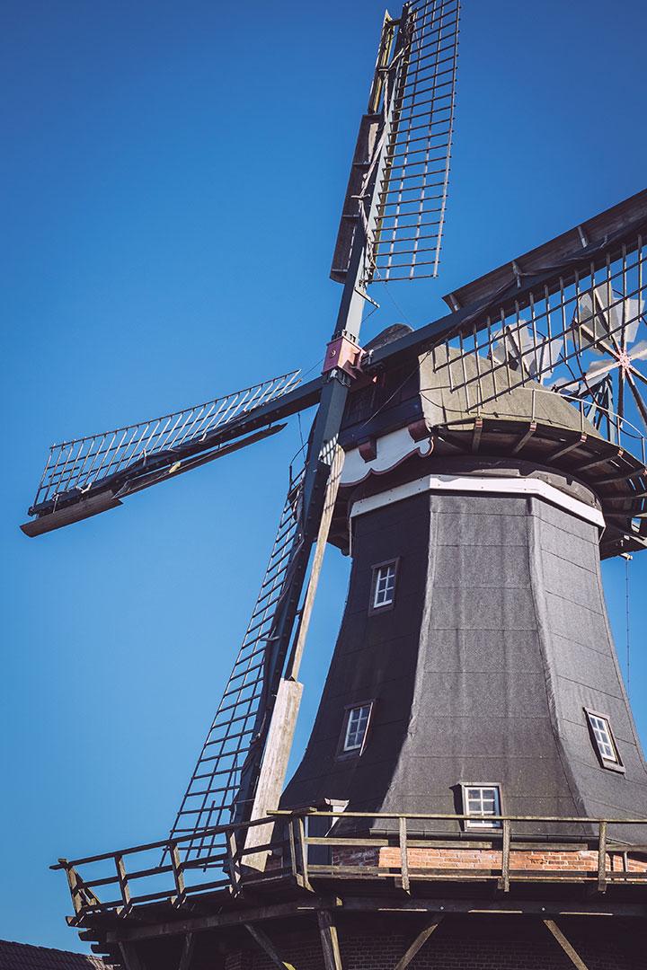 Mühle in Neustadtgödens (Sande, Niedersachsen)