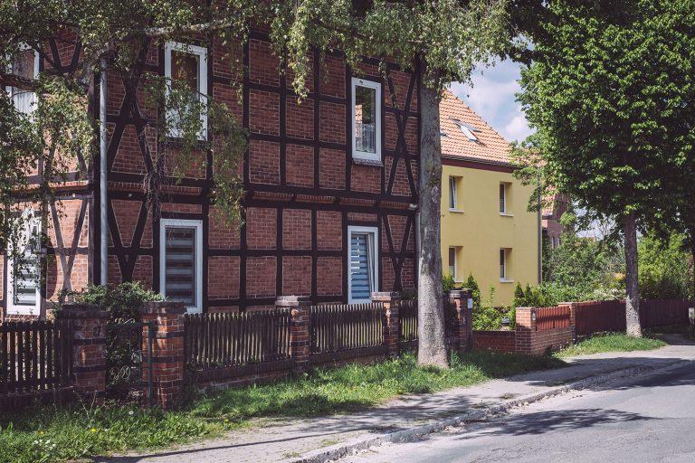 Häuser in Asel (Harsum, Niedersachsen)