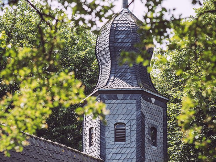 Kirchturm in Asel (Harsum, Niedersachsen)