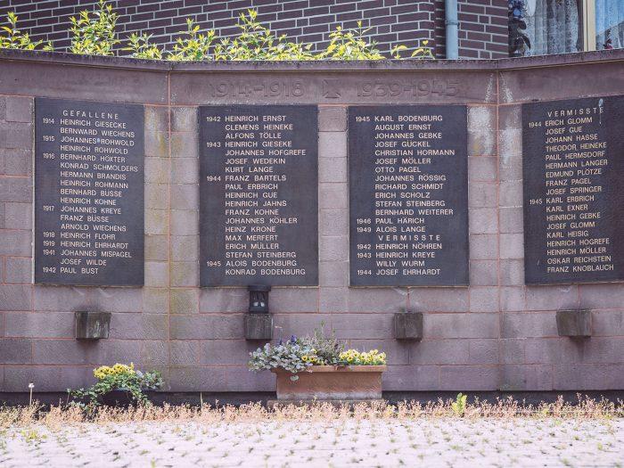 Gedenktafel in Asel (Harsum, Niedersachsen)