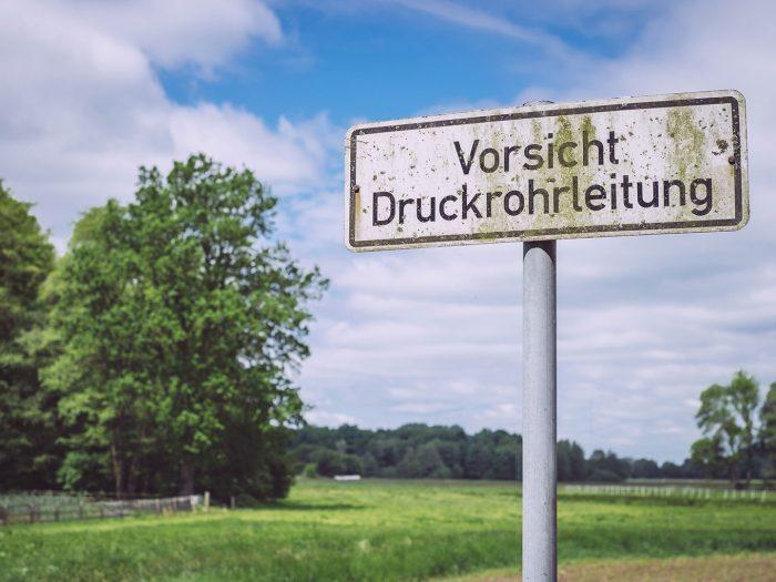 Hinweisschild in Immer (Ganderkesee, Niedersachsen)