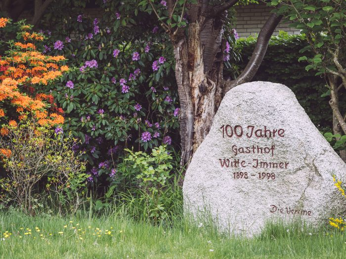 Gedenkstein Gasthof Witte in Immer (Ganderkesee, Niedersachsen)
