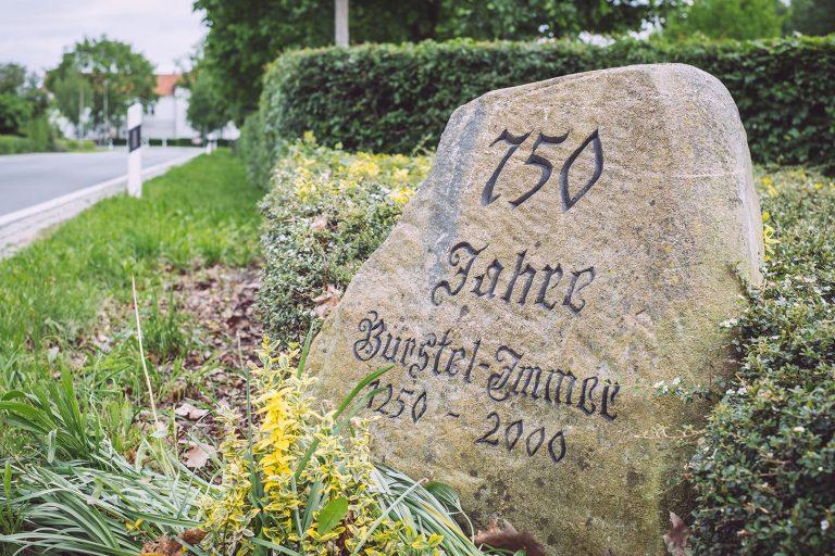 Gedenkstein Bürstel-Immer (Ganderkesee, Niedersachsen)