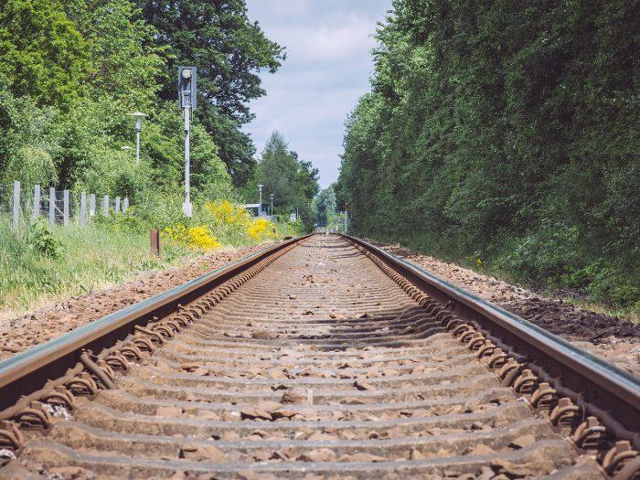 Schienen in Immer (Ganderkesee, Niedersachsen)