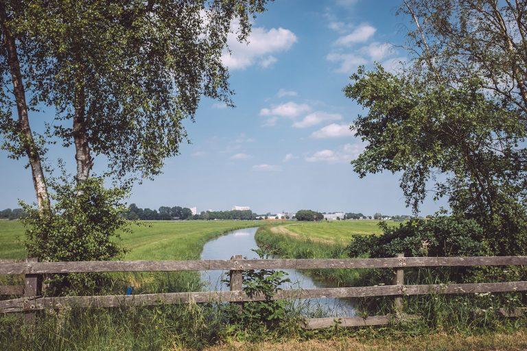 Brücke in Harrierwurp (Brake, Niedersachsen)
