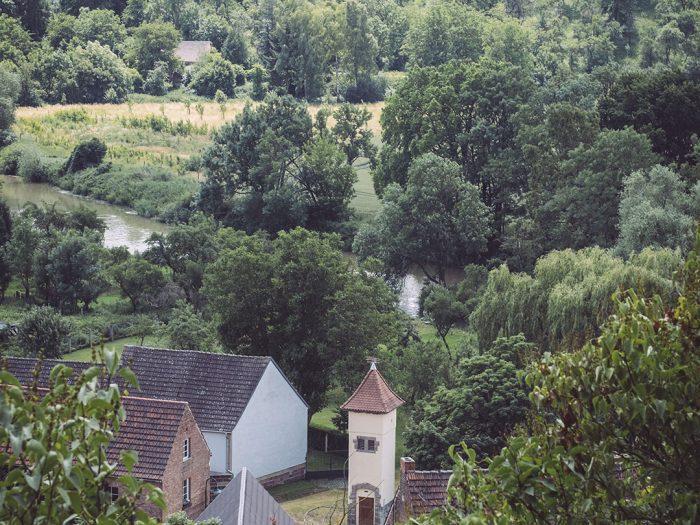 Landschaft Burgscheidungen (Burgenlandkreis, Sachsen-Anhalt)