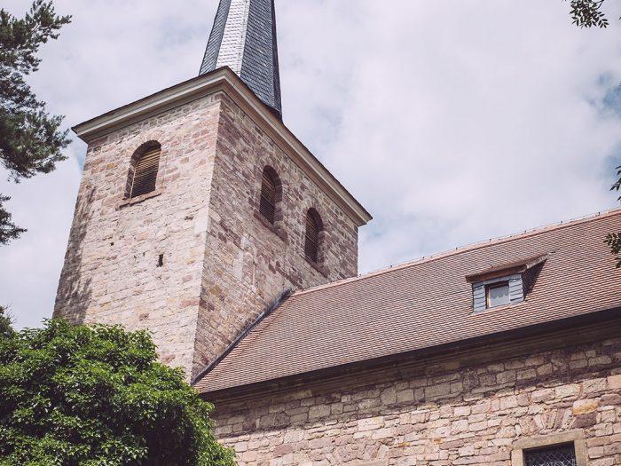Kirche in Burgscheidungen (Burgenlandkreis, Sachsen-Anhalt)