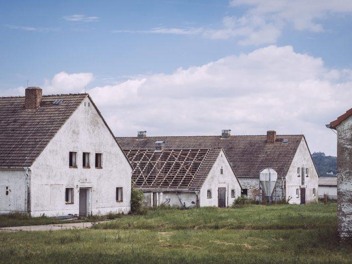 Verlassene Gebäude in Burgscheidungen (Burgenlandkreis, Sachsen-Anhalt)