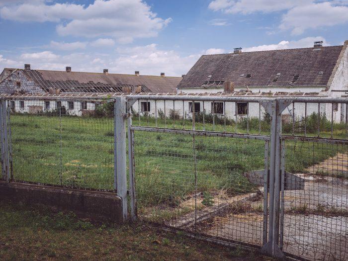 Verlassenen LPG Gelände in Burgscheidungen (Burgenlandkreis, Sachsen-Anhalt)