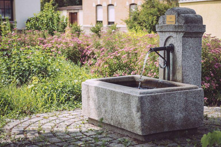 Brunnen in Kirchscheidungen (Burgenlandkreis, Sachsen-Anhalt)