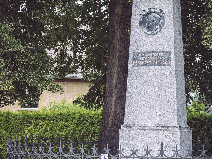 Denkmal in Kirchscheidungen (Burgenlandkreis, Sachsen-Anhalt)