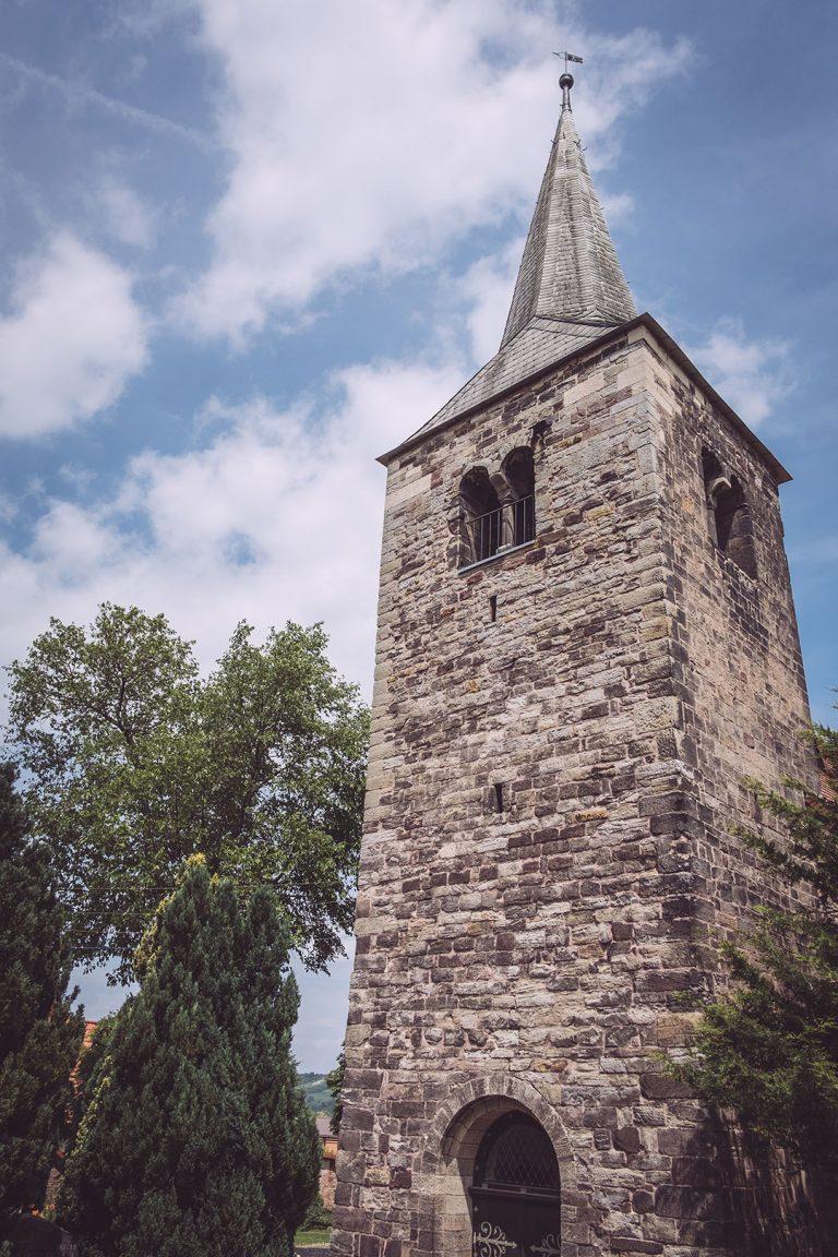 Kirche in Kirchscheidungen (Burgenlandkreis, Sachsen-Anhalt)