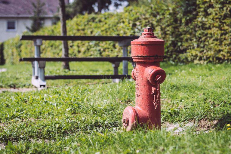Hydrant in Holzhausen (Immenhausen, Hessen)