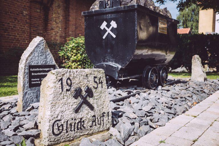 Bergbau Denkmal in Holzhausen (Immenhausen, Hessen)