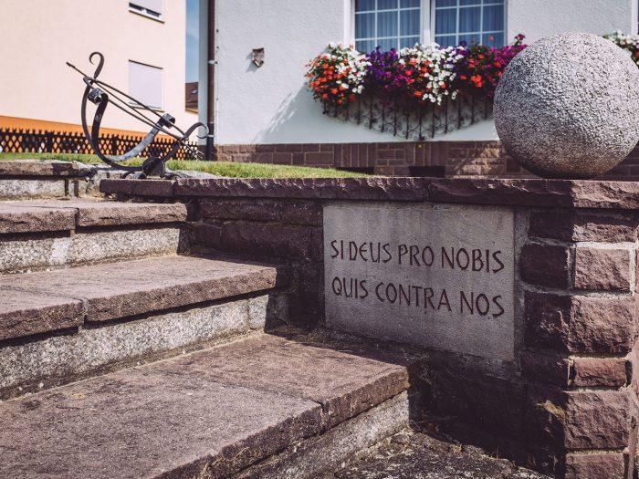 Treppe in Holzhausen (Immenhausen, Hessen)
