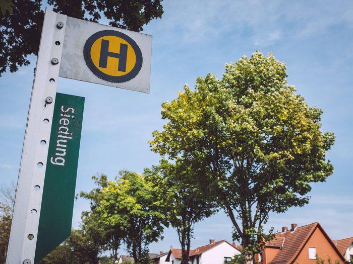 Bushaltestelle in Holzhausen (Immenhausen, Hessen)