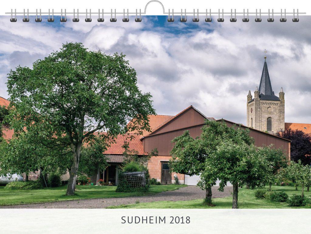 Kalender Sudheim Titelbild