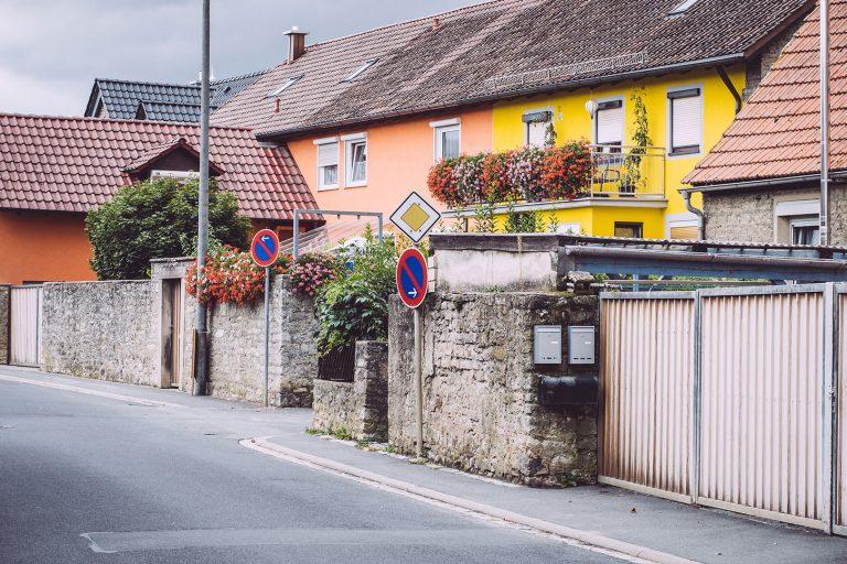 Häuser in Mainsondheim (Dettelbach, Bayern)