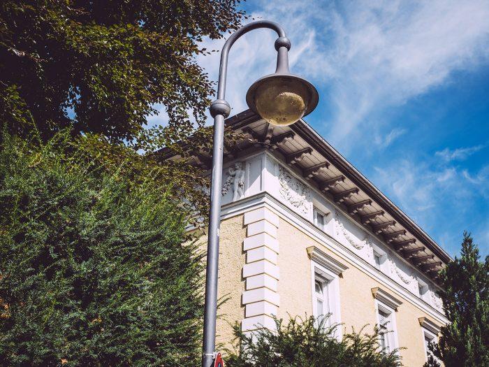 Laterne in Berg (Starnberg, Bayern)