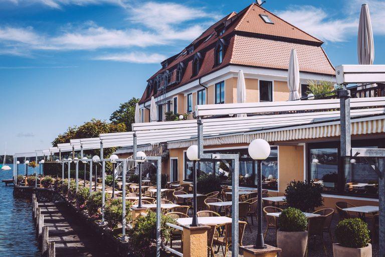 Seecafé in Berg (Starnberg, Bayern)