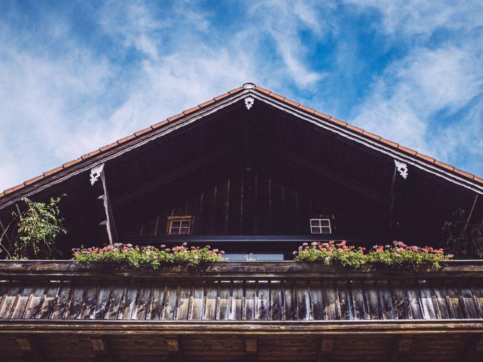 Giebel in Berg (Starnberg, Bayern)