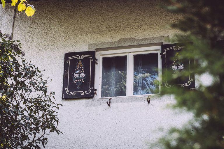 Fenster in Berg (Starnberg, Bayern)