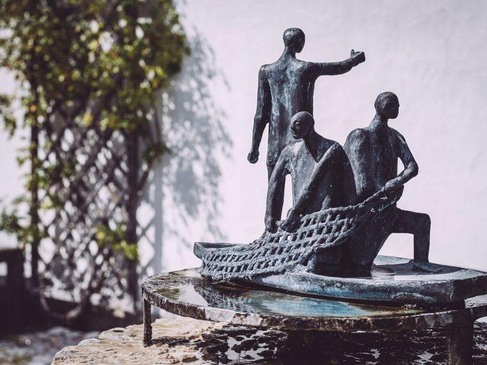 Skulpturen in Berg (Starnberg, Bayern)
