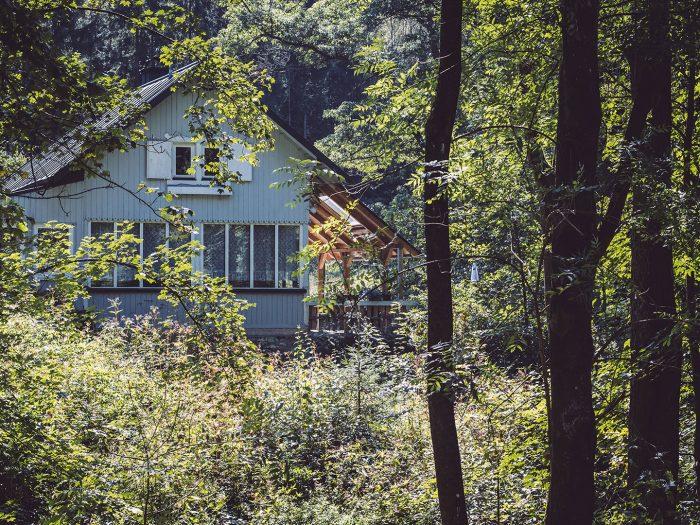 Anwesen im Wald in Hölle (Naila, Bayern)